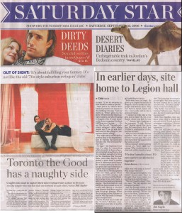 Toronto Star Sept. 23, 2006 by Jim Coyle