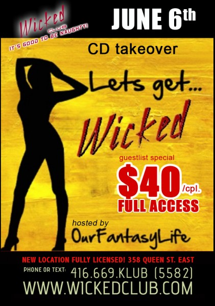 CD Takeover @ Wicked Club | Toronto | Ontario | Canada