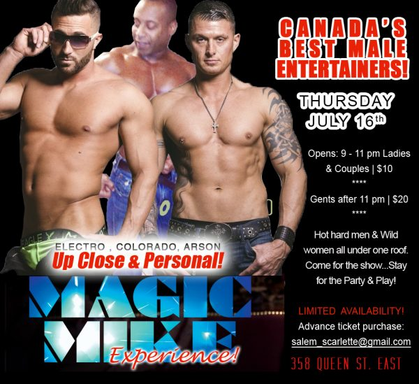 Magic Mike @ Wicked Club | Toronto | Ontario | Canada
