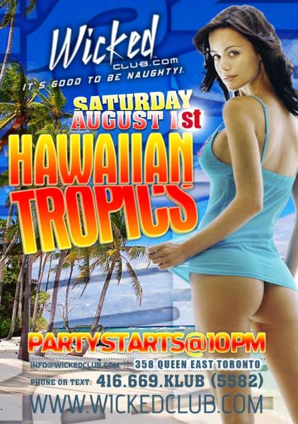 SATURDAY: Caribana Hot Tropics! @ Wicked Club | Toronto | Ontario | Canada