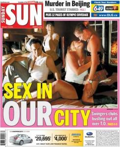 Toronto Sun August 10, 2008
