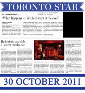 Toronto star Oct.28, 2011 by Sandro Contenta